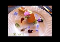 Foie gras fleuri